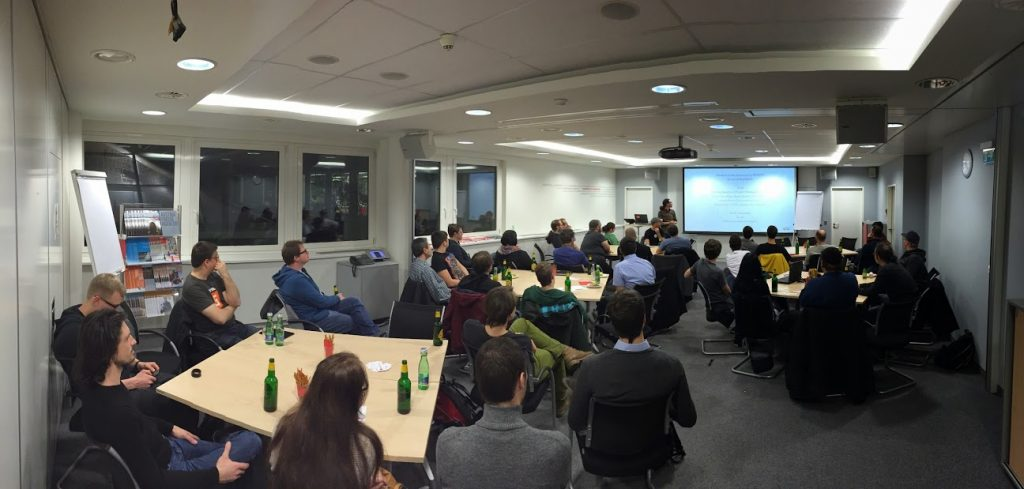 Foto der Drupal-Austria, WordPress Vienna und Typo3 Vienna Meetup 22. Jänner 2015