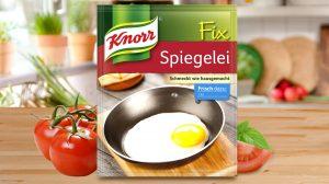 """Siegerfoto PR-Bild Award 2016 in der Kategorie Social Media """"Fix Spiegelei von Knorr"""" eingereicht von ad publica, Fotograf: ad publica."""