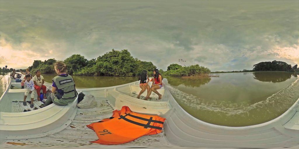 Virtual Reality Bild Amazonas